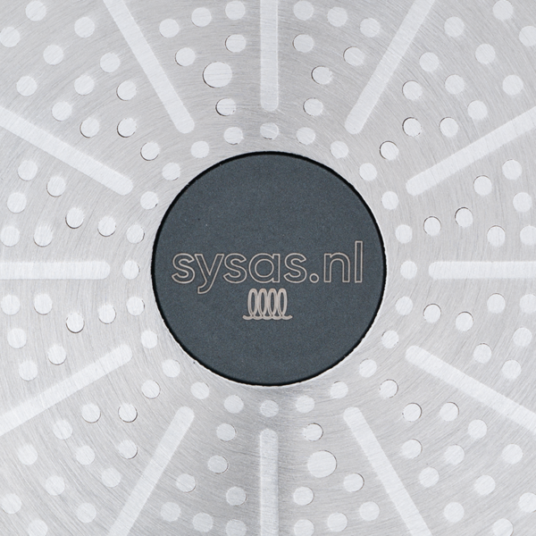 Braadpan 28 cm - Logo