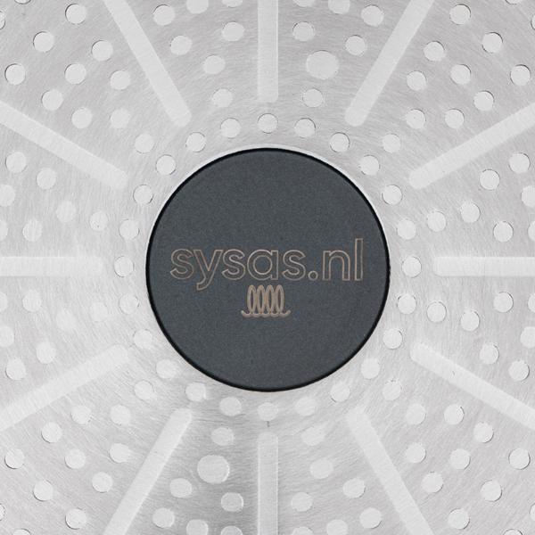 Kookpan 20 cm - Logo